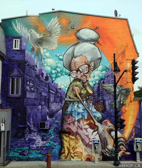 7 beloved Street Art Photos – July 2013 | CulturaNews | Scoop.it