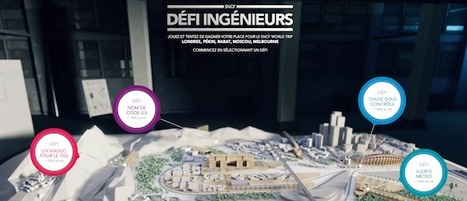 """""""Défi Ingénieur"""" : la SNCF recrute grâce à un Serious Game   Benchmark RH   Scoop.it"""