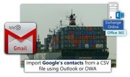 Import Google's contacts from a CSV file using Outlook or OWA | Part 1#2 | o365info.com | Scoop.it