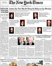 ÉTATS-UNIS • La Cour suprême pourrait refuser de statuer sur le mariage homosexuel   C'est notre jour - L'actu du mariage   Scoop.it