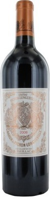Château Pichon-Longueville Baron 2ème Cru Classé rouge 2008 - Pauillac | Epicure : Vins, gastronomie et belles choses | Scoop.it