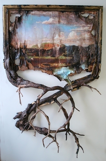Valery Hegarty: West Rock with Branches | Art Installations, Sculpture, Contemporary Art | Scoop.it