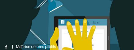 Mes datas et moi - Réseaux sociaux - MAIF prévention | Domaine D2 - Etre responsable à l'ère du numérique. | Scoop.it