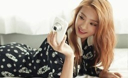 SISTAR's Bora Snaps Some Pictures with Her Brand New Phone for Nylon | K-pop News, Korean Entertainment News, Kpop Star | Scoop.it