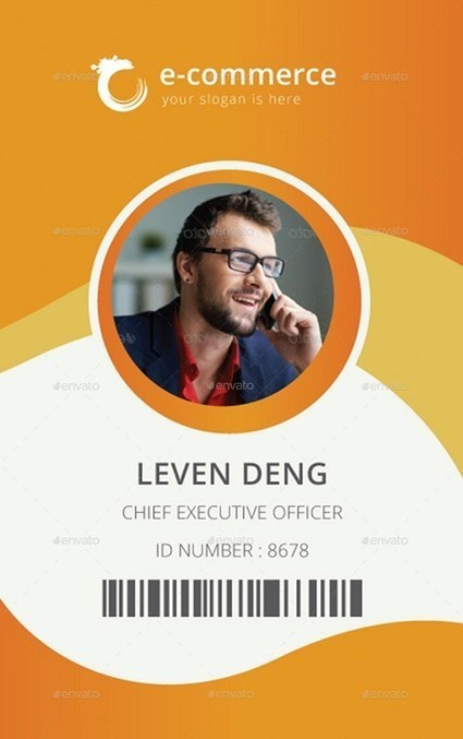 25+ Best ID Card Mockup Templates – PSD, EPS, AI Download | Templates | Scoop.it