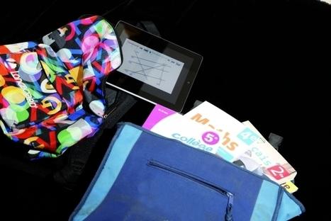 Rentrée scolaire : des tablettes dans les cartables | Enseignement et Pédagogie | Scoop.it
