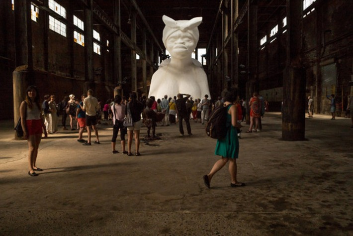 What Kara Walker's 'Sugar Baby' Showed Us | Colorful Prism Of Racism | Scoop.it