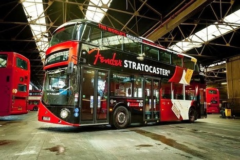 Fender Routemaster Bus by Transport for London | Stratocaster | Scoop.it