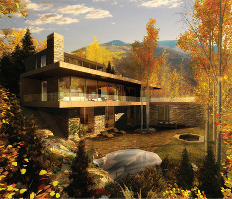 USA, Aspen, Logement privé, La Nubia par Oppenheim Architecture + Design | Architecture et montagne | Scoop.it