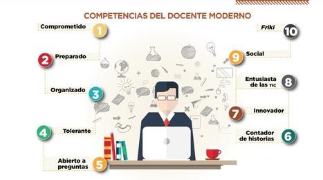 Las competencias del Docente Moderno | Inserción de TIC en Formación Inicial Docente | Scoop.it