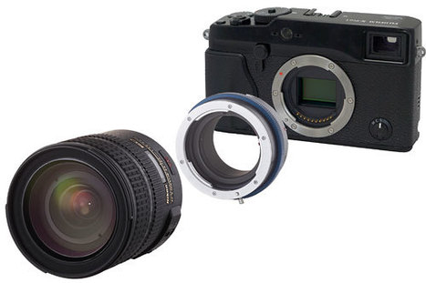 Novoflex offers 13 new adapters to connect lenses of different manufacturers | Novoflex | Fuji X-Pro1 | Scoop.it