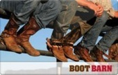 """Buy Discounted Boot Barn Gift Cards 