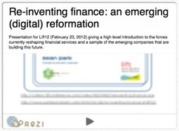 Re-Inventing Finance: An Emerging (Digital) Reformation | Sustainable Futures | Scoop.it