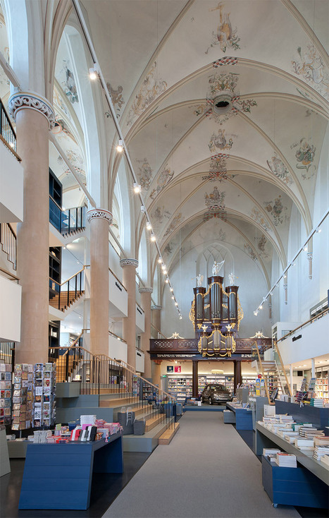 A 15th Century Cathedral Transformed into a Modern Bookstore | Colossal | Actividades y referencias para clase | Scoop.it