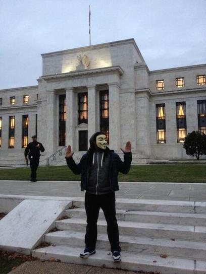 Twitter / apblake: The DC #millionmaskmarch has ... | Anonymous' MillionMaskMarch | Scoop.it