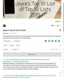 A Personal Top 10 (or so) List of Top 10 (or so) Lists — @joycevalenza NeverEndingSearch | Professional Learning for Busy Educators | Scoop.it