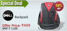 Buy Online Dell Backpack Offers Price Rs.513 – ShopClues | DealsZone.in | dealszone (coupon code website) | Scoop.it