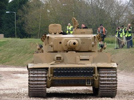 Tiger Tank in action - WalkAround   History Around the Net   Scoop.it
