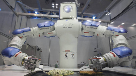Eight Types Of Food You Love, Now Made By Robots | Robolution Capital | Scoop.it
