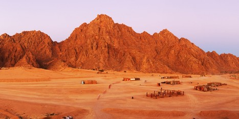 Sinai Mountains   Blue sky travel   Scoop.it