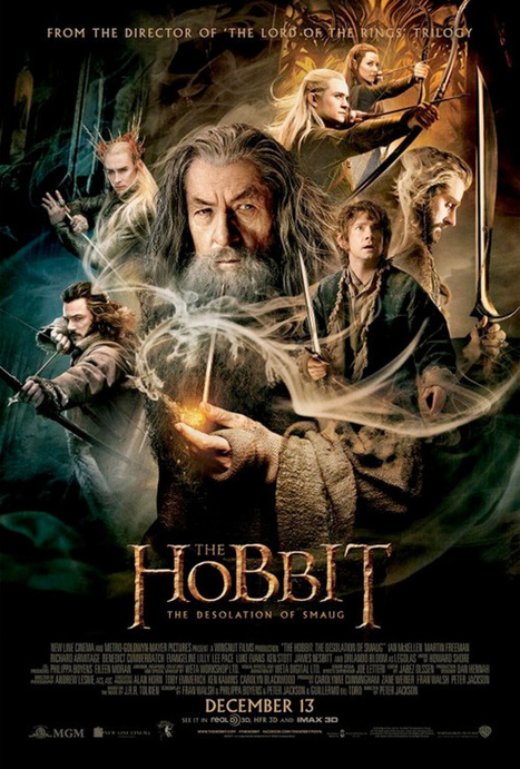 Smoky Dragon on Final 'The Hobbit: The Desolation of Smaug' Poster - First Showing | 'The Hobbit' Film | Scoop.it