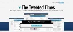 The Tweeted Times, un periódico de tu Timeline | e-Xploration | Scoop.it