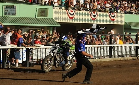 Flat Track: Round #12 – Santa Rosa Mile Preview (Video) - Cycleworld | California Flat Track Association (CFTA) | Scoop.it
