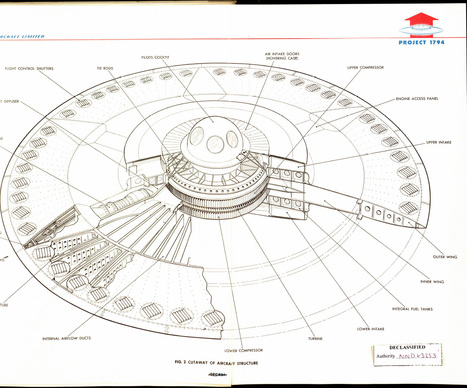 US Air Force's 1950s supersonic flying saucer declassified | ExtremeTech | ub3r newz | Scoop.it