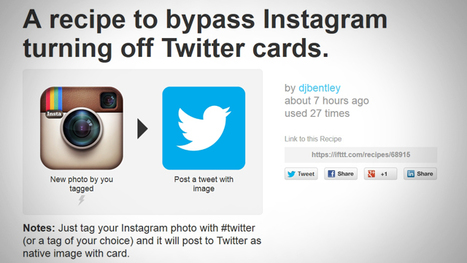 Instagram broke the ability to share photos on Twitter, here's how to fix it | Photography Technics | Scoop.it