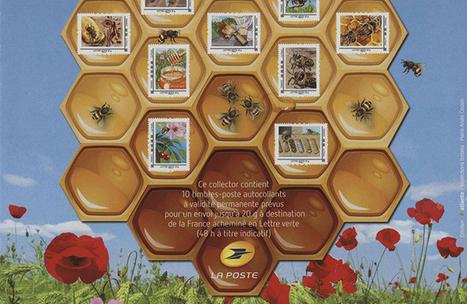 La Poste dédie un carnet de timbres aux abeilles - Fondation 30 millions d'amis | Abeilles, intoxications et informations | Scoop.it