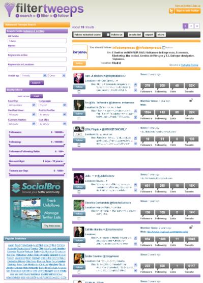 Filter Tweeps búsquedas avanzadas de Twitter « Métodos de busca   MEDIA´TICS   Scoop.it