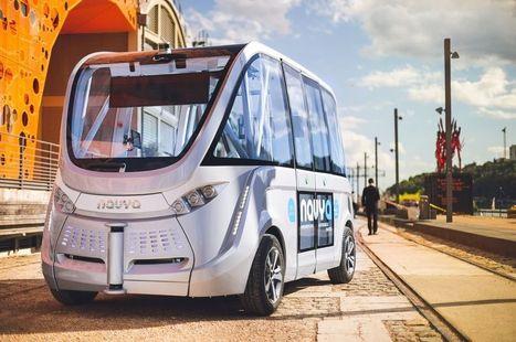 À Lyon, des navettes autonomes desservent désormais le quartier de Confluence | Innovation @ Lyon | Scoop.it