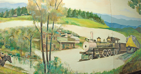The Erwin Record - Lost mural found, on display at museum | Tennessee Libraries | Scoop.it