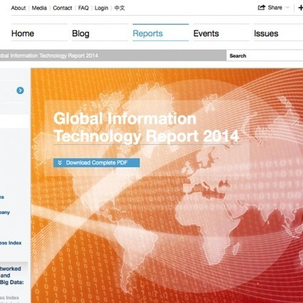Global Information Technology Report 2014 | El rincón de mferna | Scoop.it
