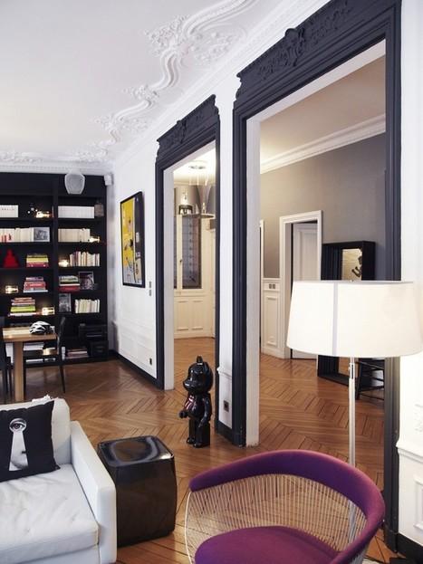 Un intérieur parisien so chic - Frenchy Fancy | Deco | Scoop.it