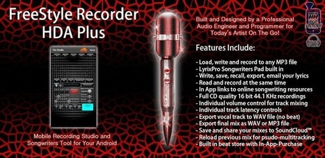 FreeStyle Recorder HDA Plus - Applications Android sur GooglePlay   Audio production on mobile devices   Scoop.it