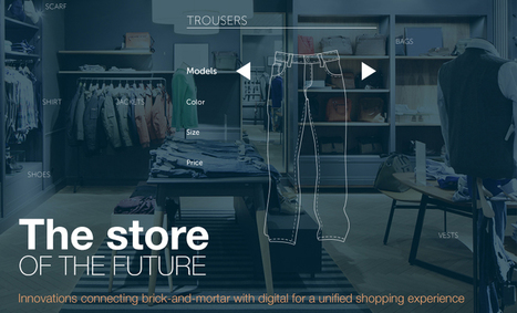 The store of the future: brick-and-mortar retail meets omnichannel [INFOGRAPHIC] | Omnichannel Retailing | Scoop.it