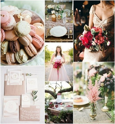 Romantic Glamour Wedding Ideas | French Wedding Inspiration | Scoop.it