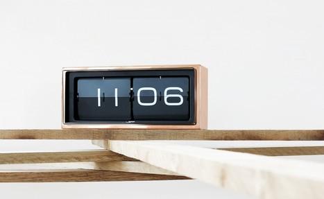 vintage flip clock : brick | Random | Scoop.it