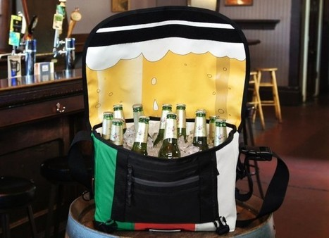 Instead of a Laptop, This Messenger Bag Hides An Ice-Cold Beer Bonanza - Cult of Mac | Public Relations & Social Media Insight | Scoop.it