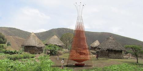 Tour WarkaWater de récupération d'eau, par Architecture and Vision | Usages et Innovation | Scoop.it