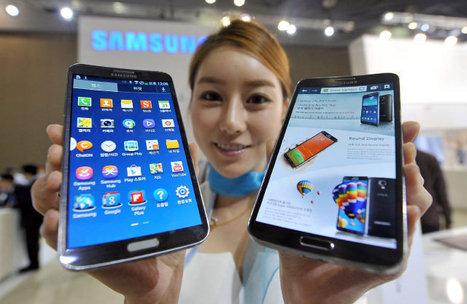Samsung pone a la venta el primer smartphone de pantalla curva - Ultimas noticias - ElNuevoHerald.com | Desarrollo de Apps, Softwares & Gadgets: | Scoop.it