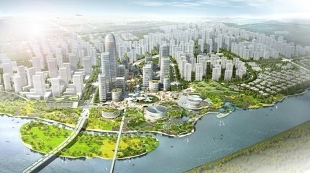 China: Binhai Eco City aims to be a case study for green urban planning | Stu Robarts | GizMag.com | Développement durable et efficacité énergétique | Scoop.it