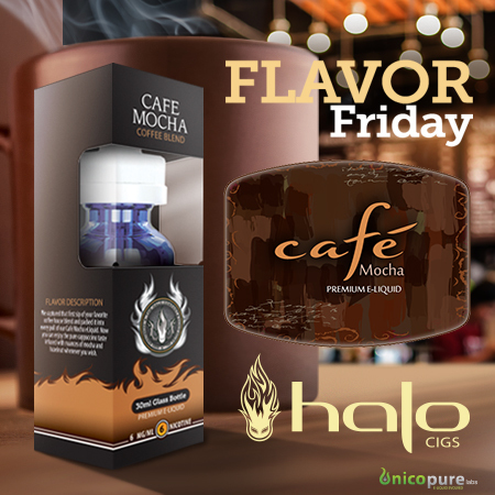 Cafe Mocha E-liquid: 20% OFF | E-Liquid | Halo Cigs | Scoop.it