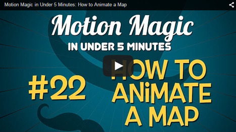 Creating an Animated Map with Motion | Rapid eLearning | Scoop.it