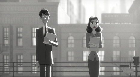 Paperman, è online la storia d'amore in bianco e nero targata Disney | InTime - Social Media Magazine | Scoop.it