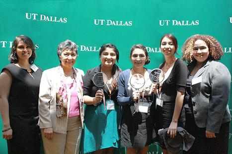 Winners Named in Research Program for Young Women - UT Dallas News | Women in Tech - Articles | Scoop.it
