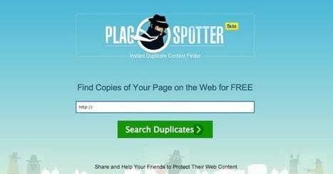 PlagSpotter, un servizio web per scoprire chi copia i propri contenuti | Il web writing in Italia by Contenuti WEB | Scoop.it