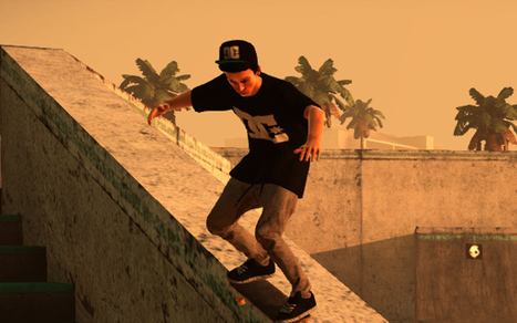 Facebook Fans Get to Pick Bonus Levels in 'Tony Hawk's Pro Skater HD' | Advertising | Scoop.it