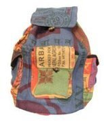 Recycled Jute Rice Bag Backpack Hand Made Nepal   Purse For Stylish Women   Scoop.it